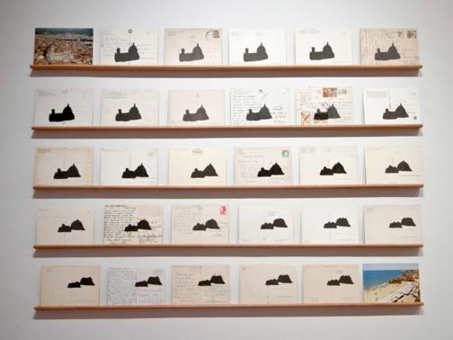 Mayana Redin - Ruína I - 85x100cm - Impressão a jato de tinta sobre cartão postal - 2013 - Ed. única